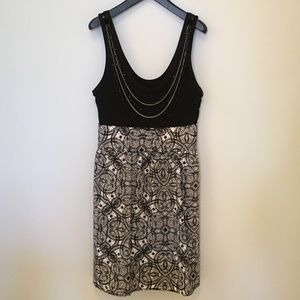 Express Sleeveless Dress with Removable Necklace